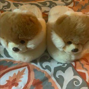 Guns Brand Boo the Dog Children's slippers